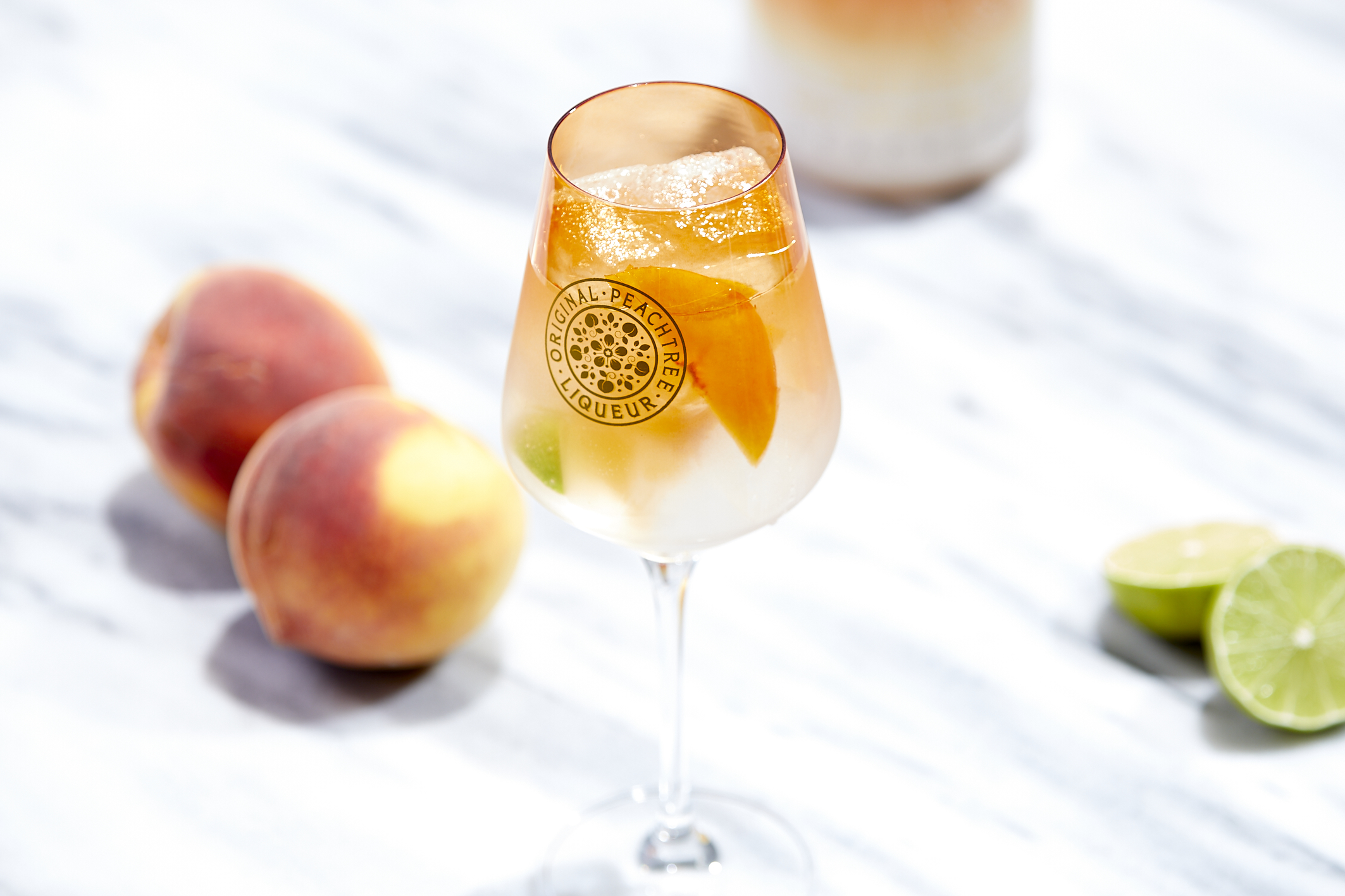 Fizzy Peachtree - light and low calorie